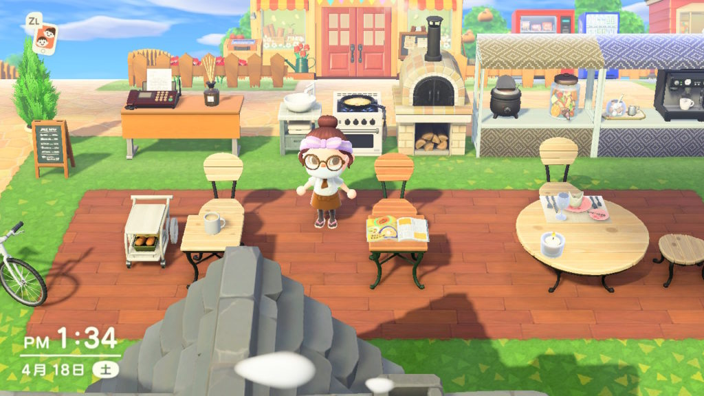 あつまれどうぶつの森カフェ