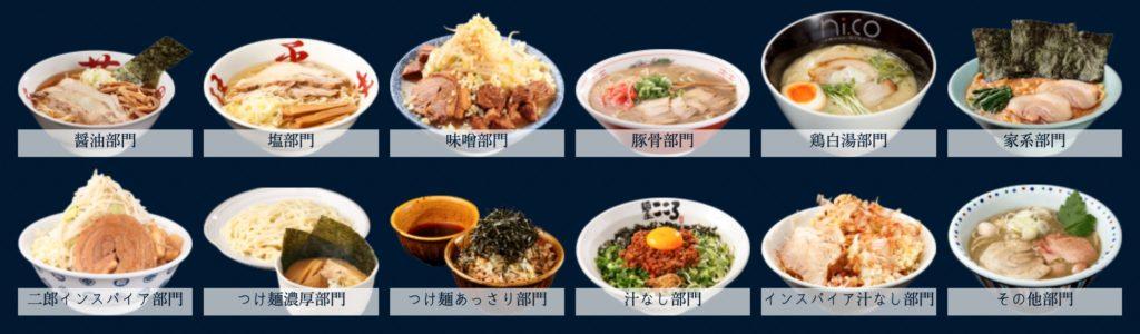宅麺.com ラーメン種類