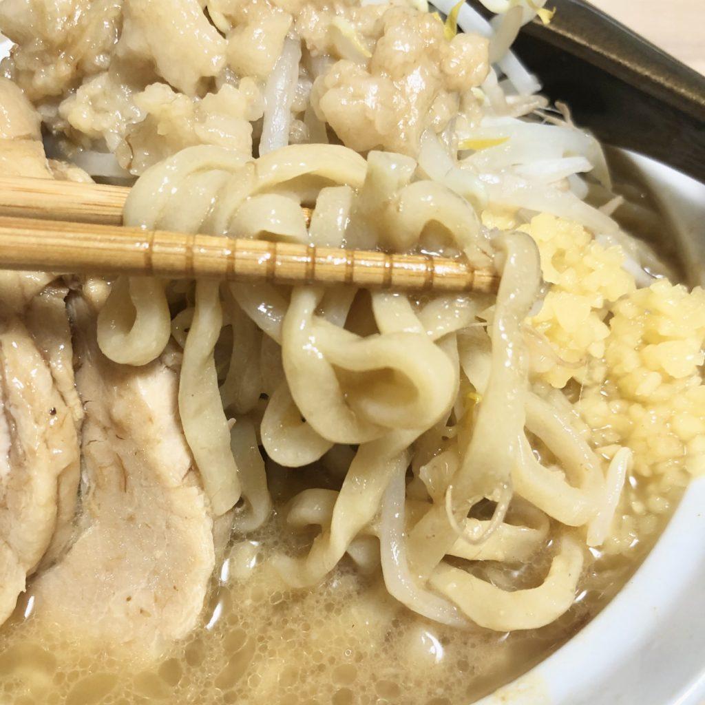 宅麺.com自宅で二郎系ラーメン バカ増しの里ジャンクラーメンじおん Gのみそ