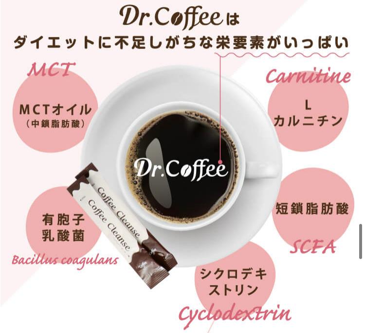 ドクターコーヒー ダイエットコーヒー Dr.coffee Dr.Coffee 重盛さと美 コーヒーダイエット チャコールコーヒー 炭コーヒー